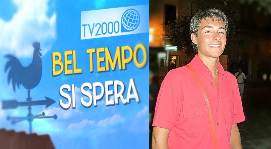 Il 15 Giugno Matteo Farina su TV2000