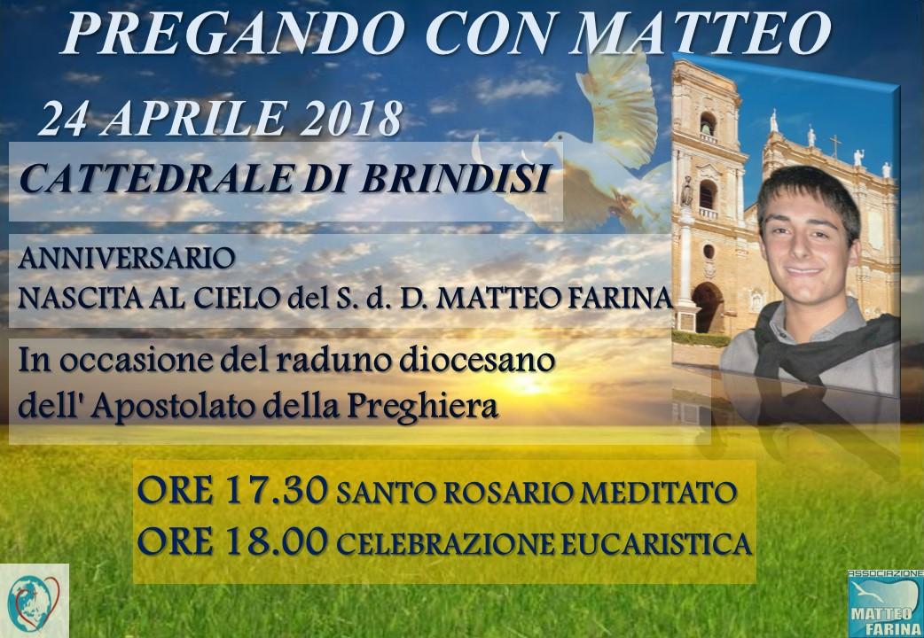 24 aprile 2018  Cattedrale di Brindisi  ORE 17.30