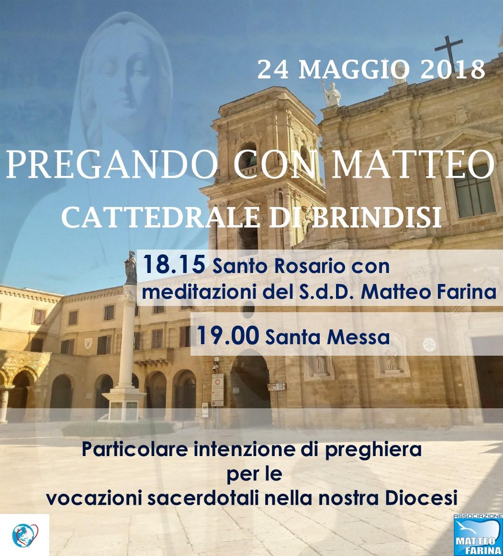 24 MAGGIO 2018 – CATTEDRALE DI BRINDISI